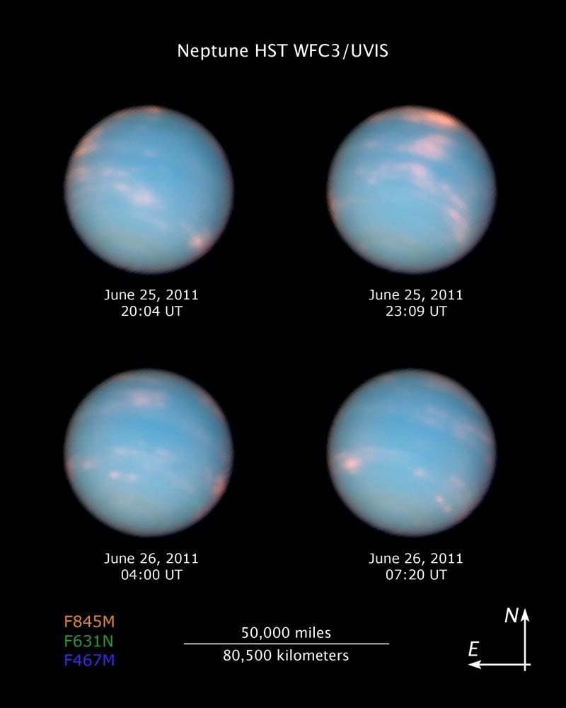 Apod 14 Juli 2011 Neptun Einmal Herum
