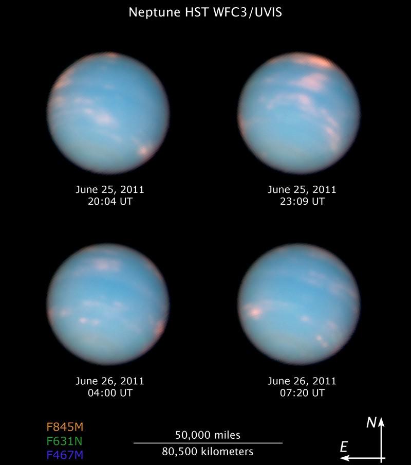 Neptuno: orbita completa