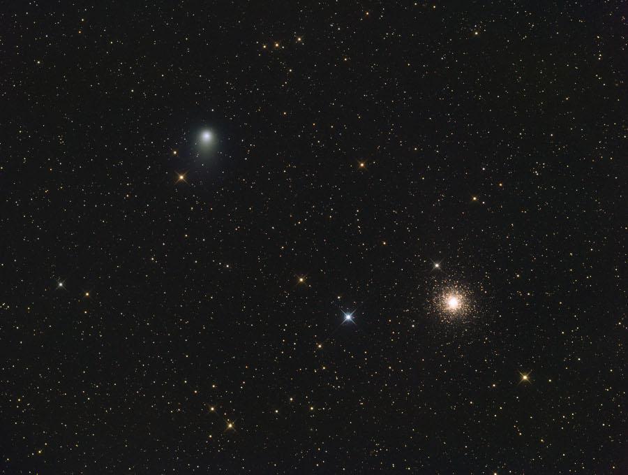 Cometa Garradd y Messier 15