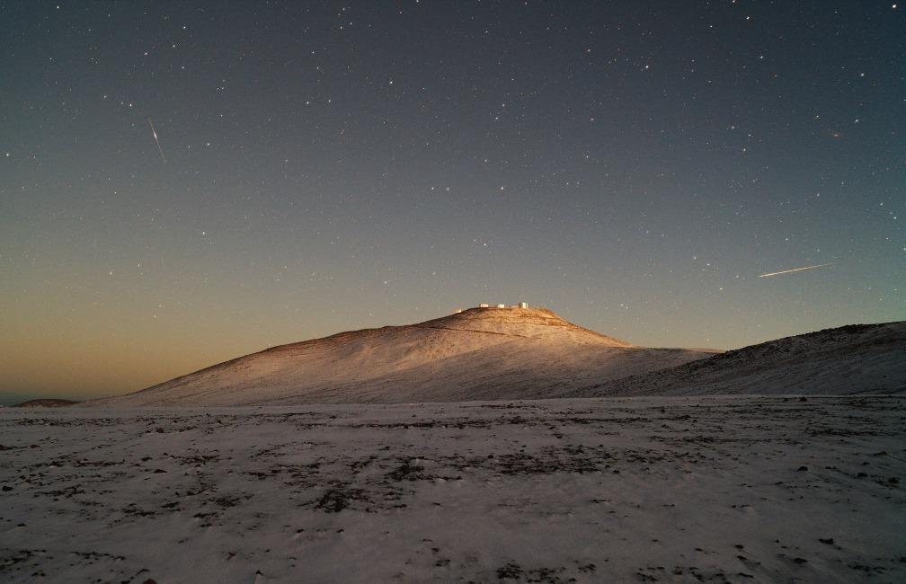 Las nieves de Paranal