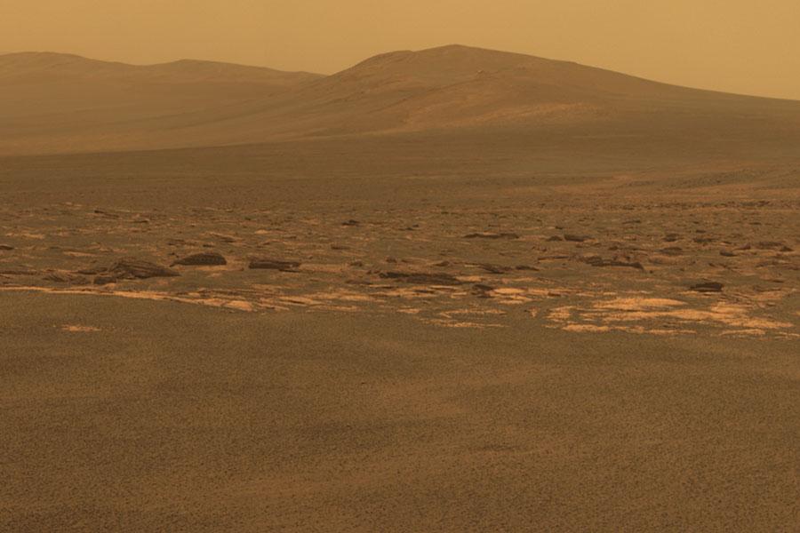 Rover llega al crater Endeavor en Marte