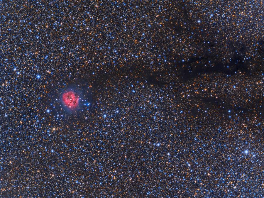 Gran Angular de la Nebulosa del Capullo