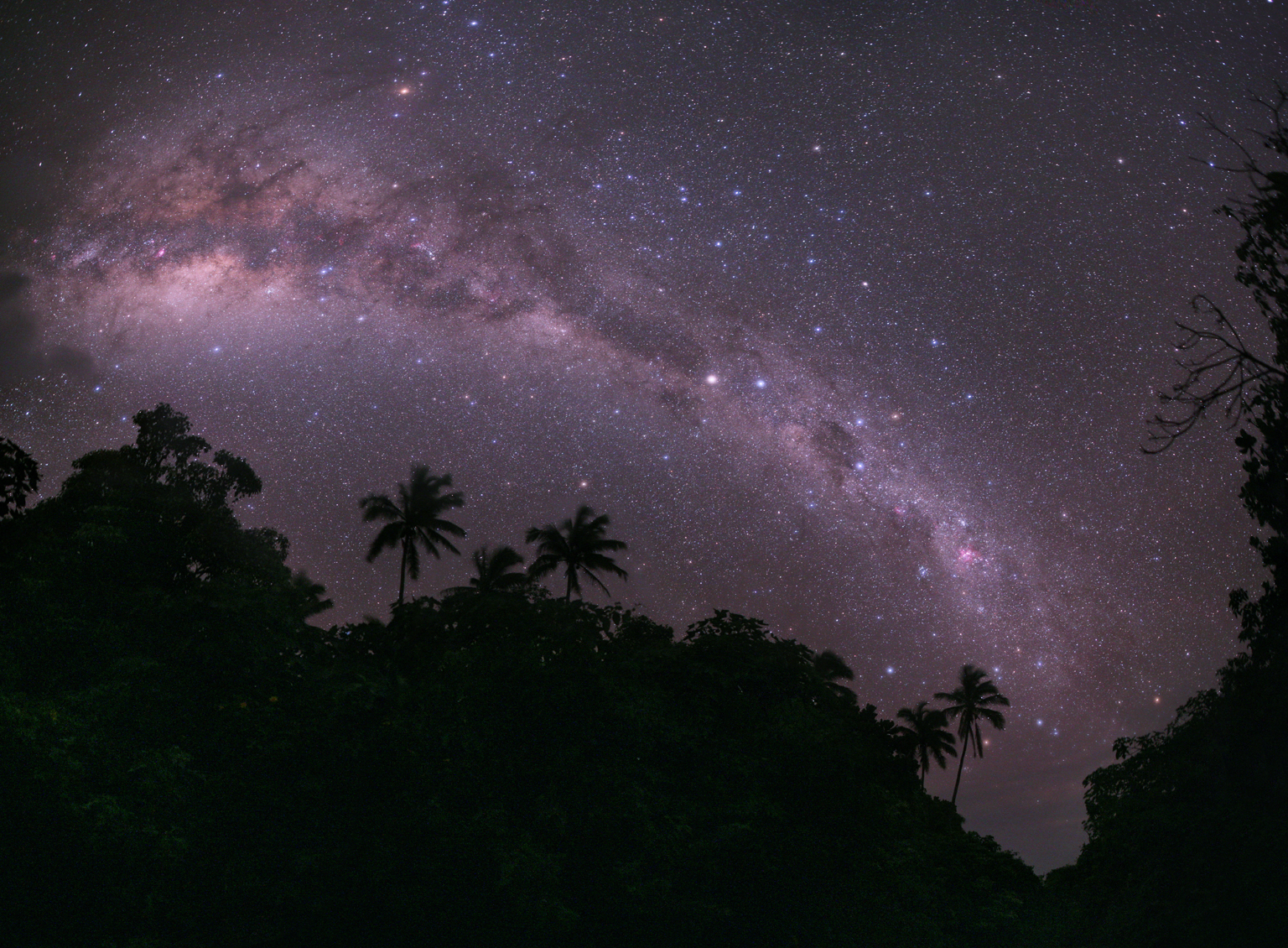The Mangaia's Milky Way