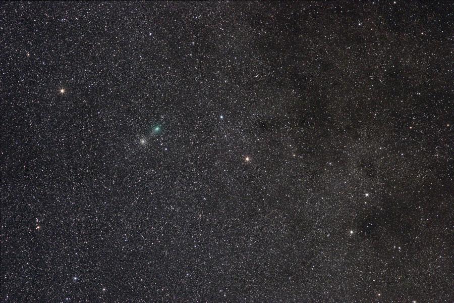 Cometa Garradd se cruza con diez mil estrellas