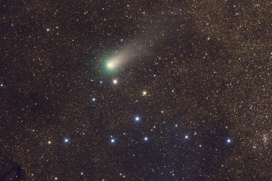 Cometa Garradd y la Percha