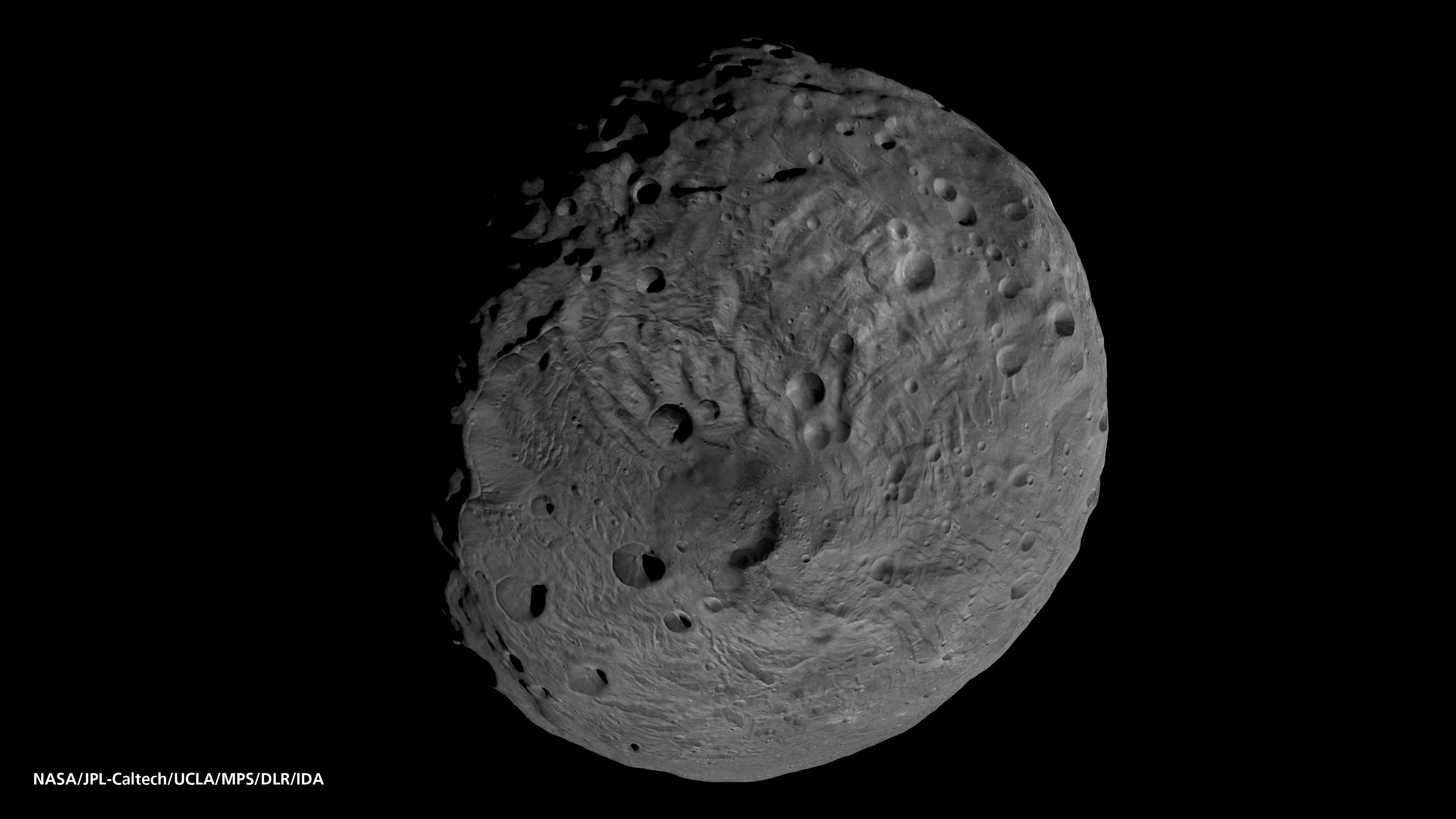 most asteroids round - photo #32