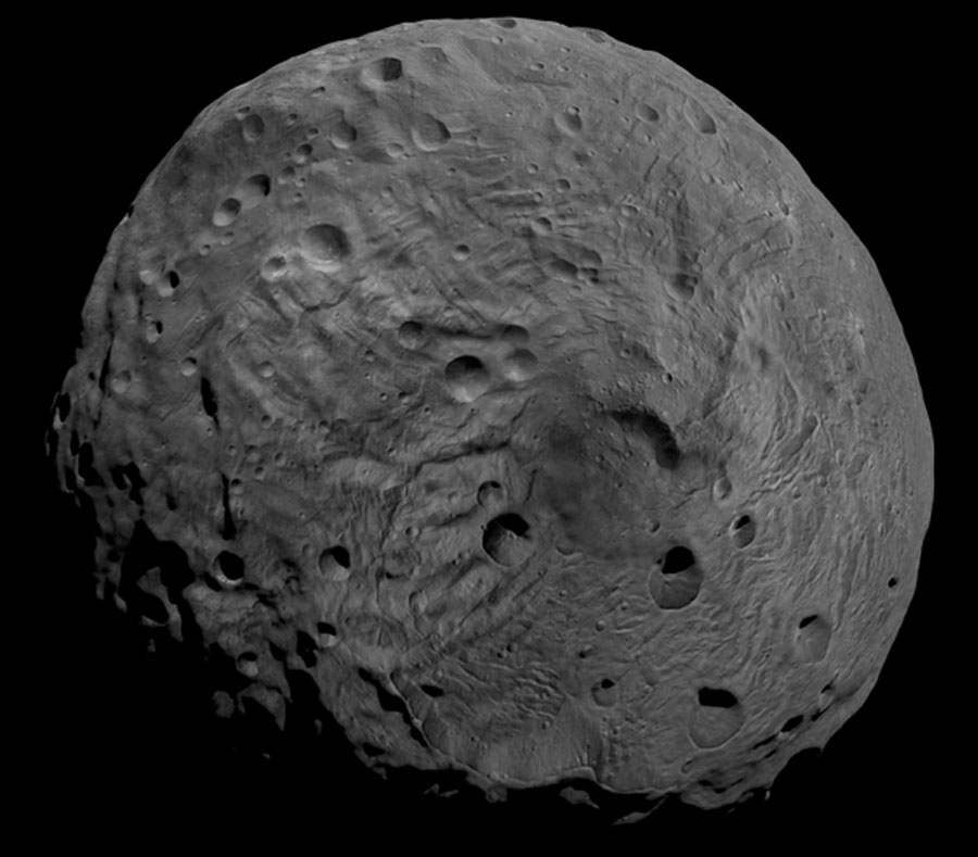 El Polo Sur del Asteroide Vesta