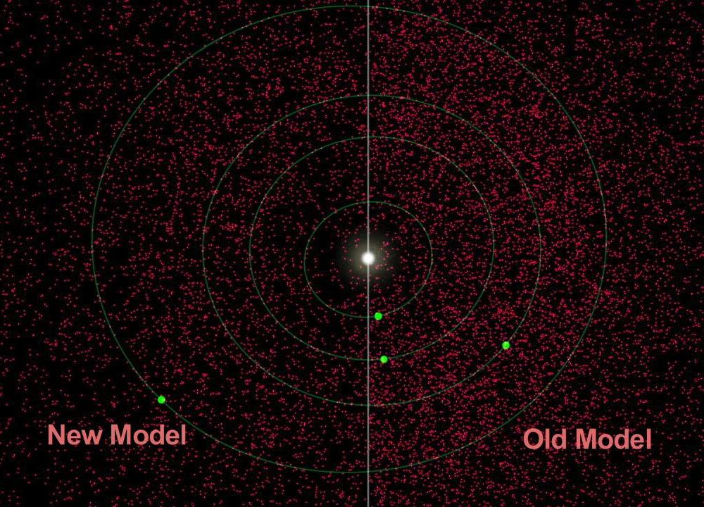 地球附近的小行星(2011.10.1)- 每日天文一图摘译 - 秋天的麦兜 - 蜗牛壳