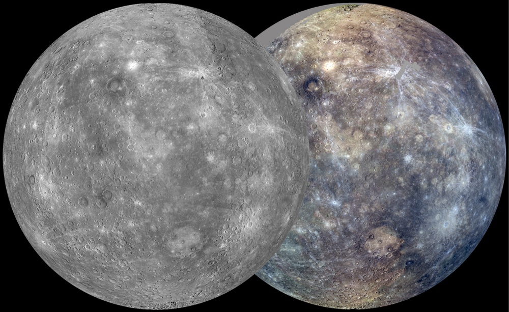 Mosaic of Mercury