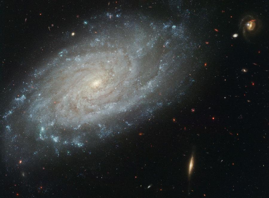 La galaxia espiral NGC 3370 desde el Hubble