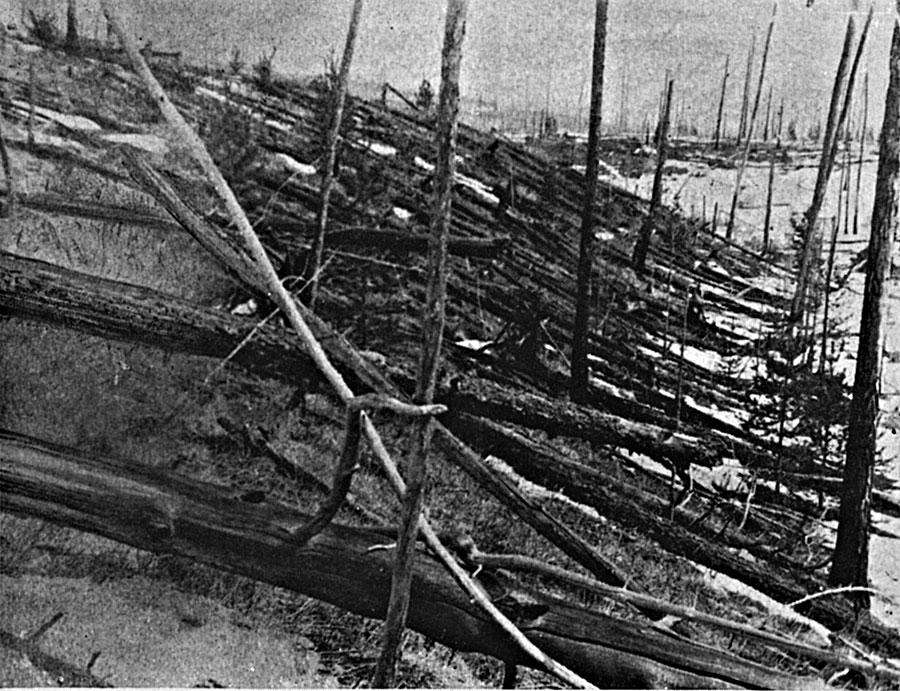 Tunguska: el evento de impacto reciente más grande