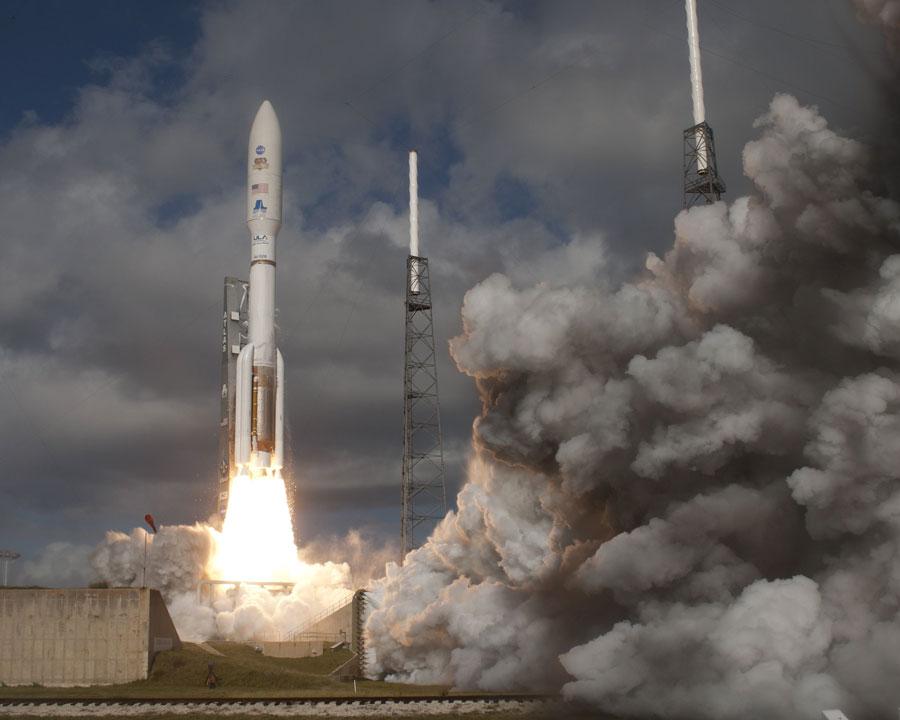 El vehículo Curiosity despega hacia Marte