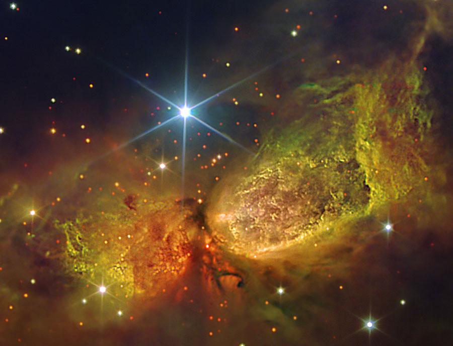 La región de formación estelar S106