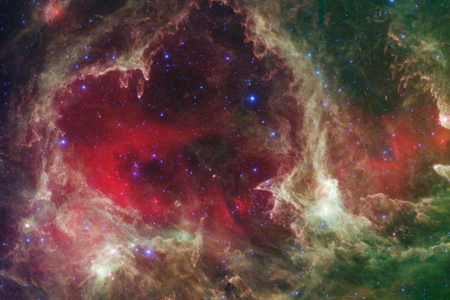 W5: pilares de formación de estrellas