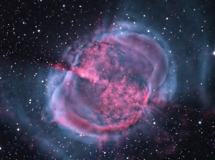 M27: la nebulosa de Dumbbell