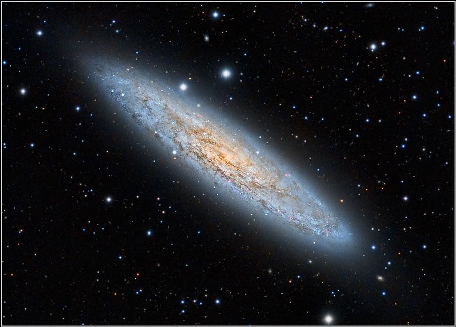 NGC 253: la galaxia de Sculptor