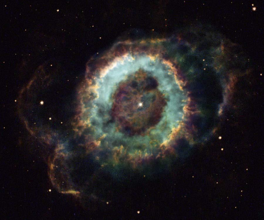 NGC 6369: la nebulosa del Pequeño Fantasma