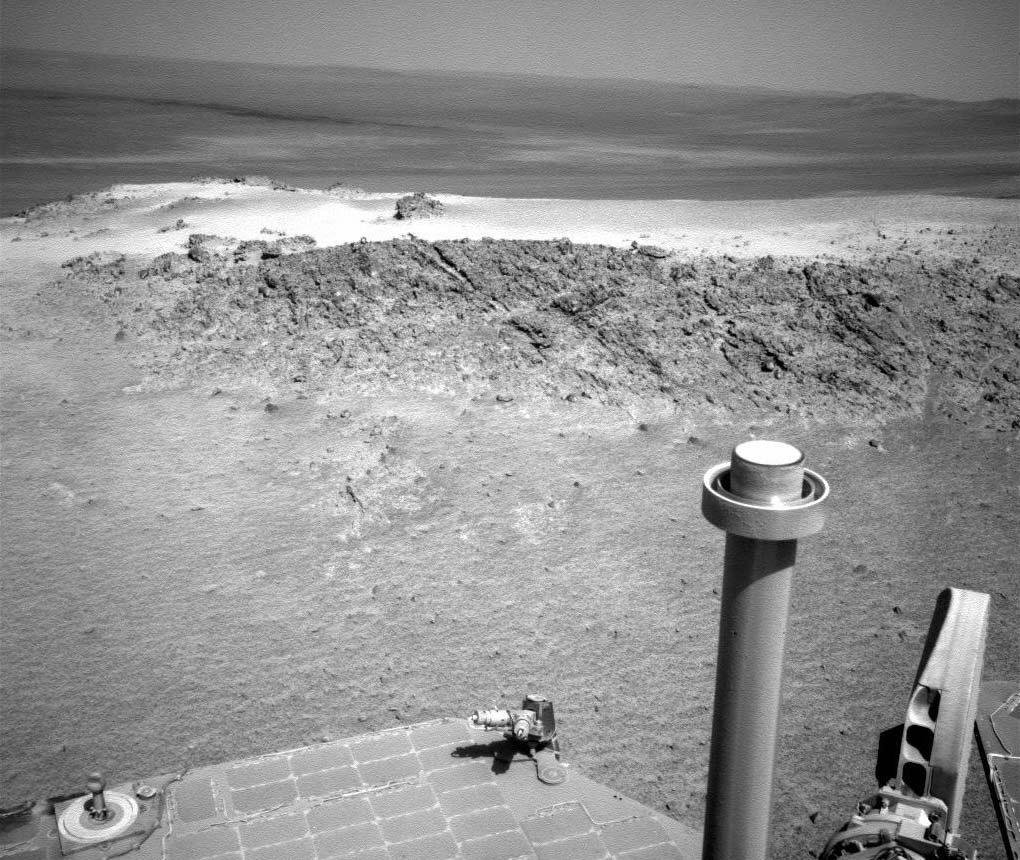 El Opportunity llega a Puerto Greeley en Marte
