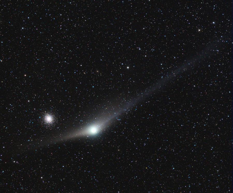 El cometa Garradd y M92