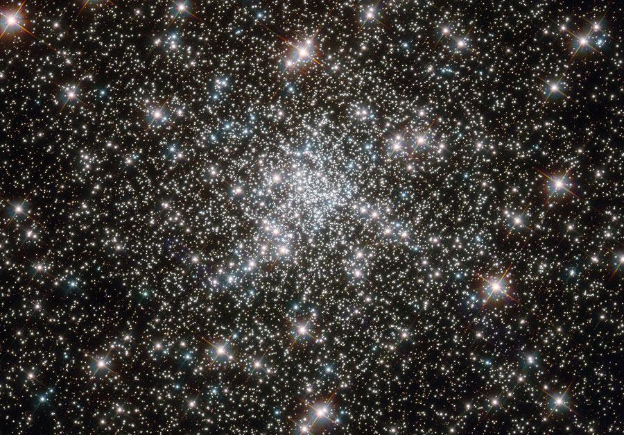 En el núcleo de NGC 6752