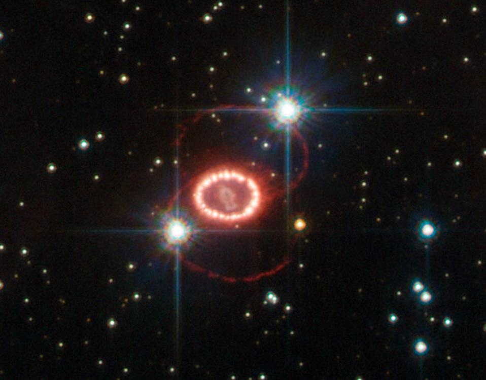 Los misteriosos anillos de la supernova 1987A