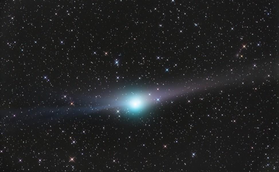 Otra cola del cometa Garradd