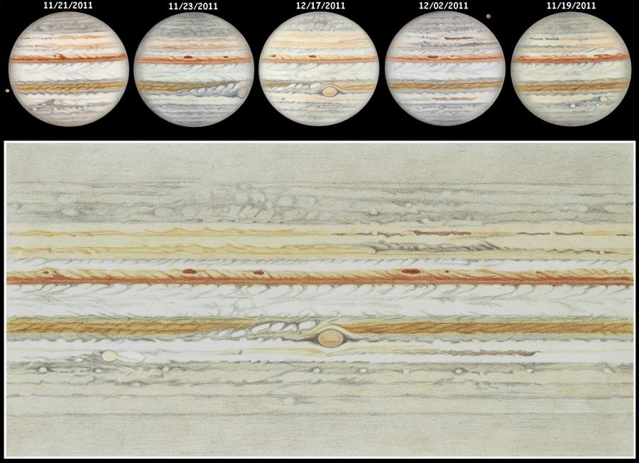 Júpiter dibujado
