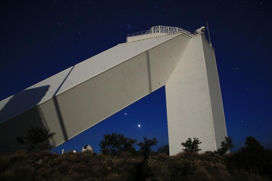 Planetas brillantes en el telescopio solar McMath-Pierce