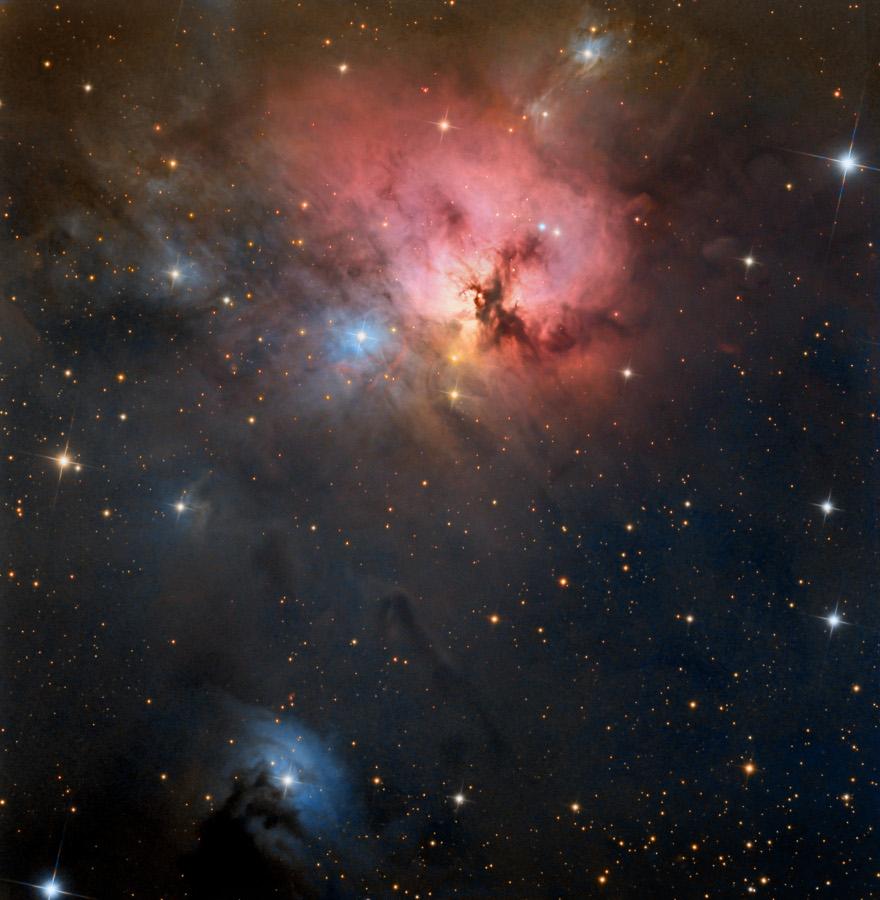 NGC 1579: la Trífida del Norte