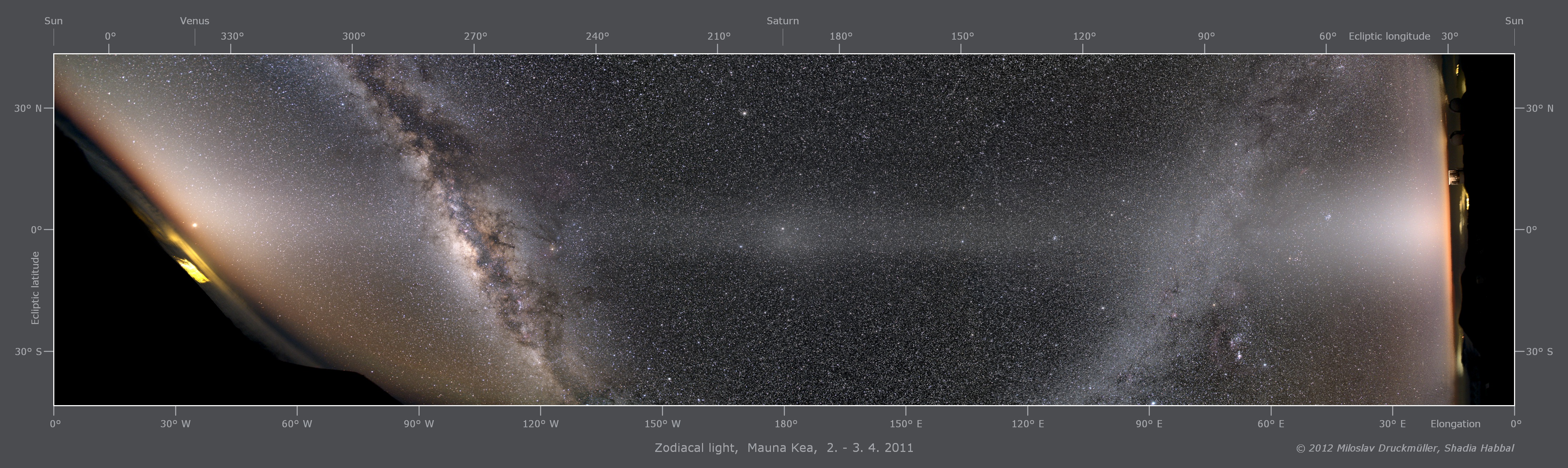 Apod 2012 April 5 Zodiacal Light Panorama