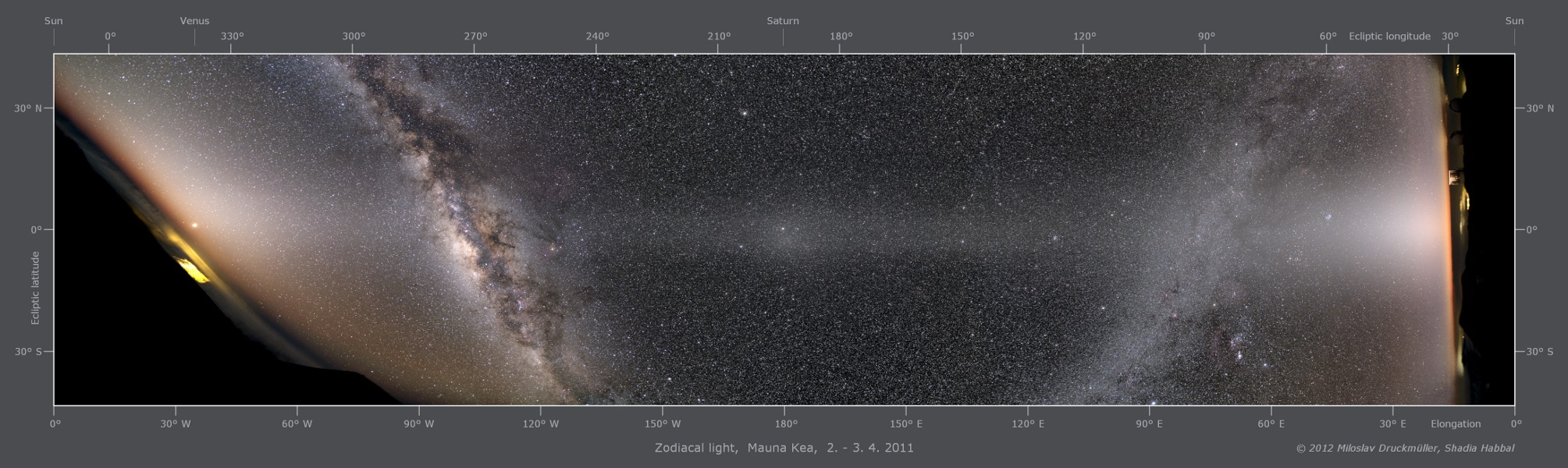 "See Explanation.  Clicking on the picture will download<br />  the highest resolution version available."" /></a></p> <p><center><strong> Zodiacal Light Panorama </strong><br /> <strong>Image Credit & <a href="