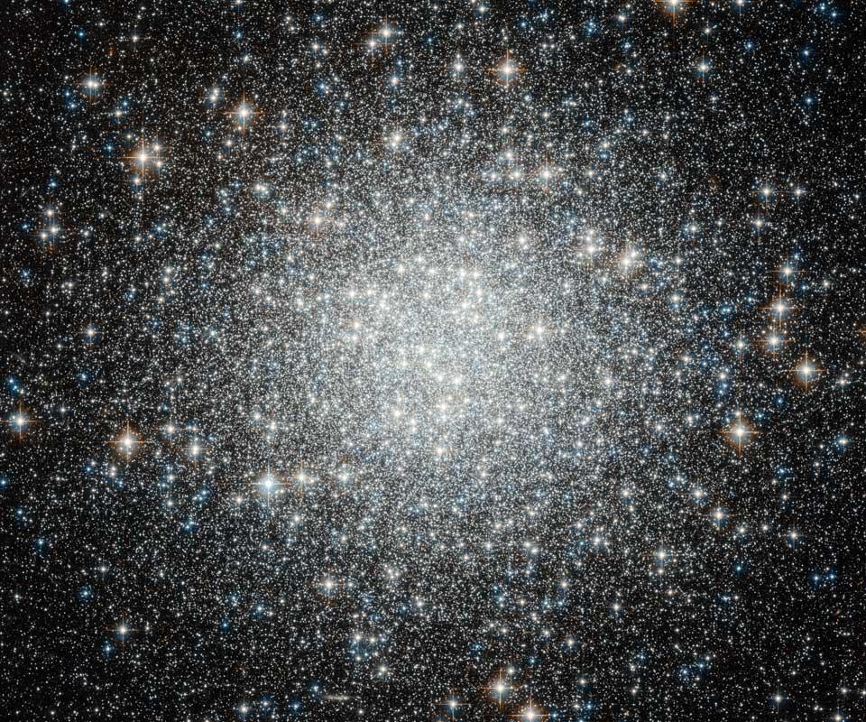 Modří tuláci v kulové hvězdokupě M53