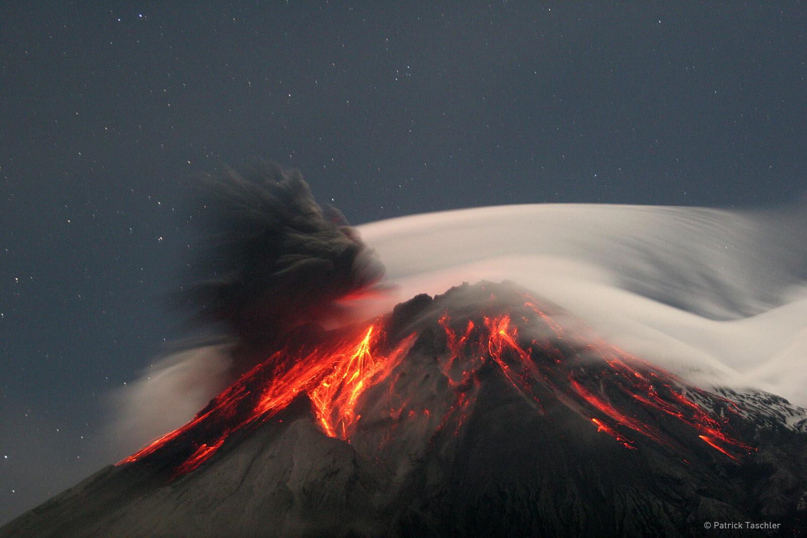 i Vulcani influiscono sul clima