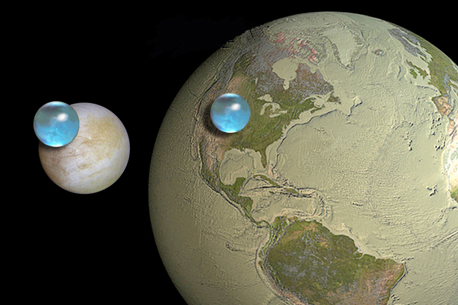 Europa's water