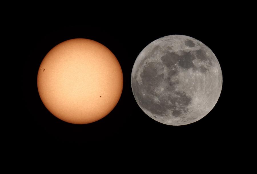 Sol vs Super Luna