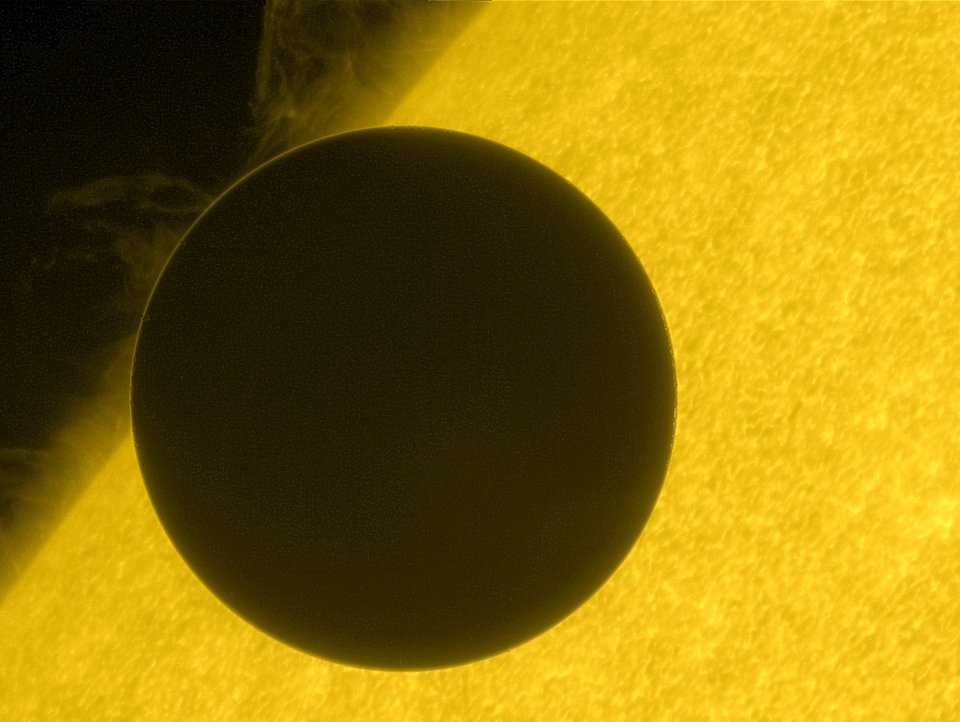 venus at start of transit