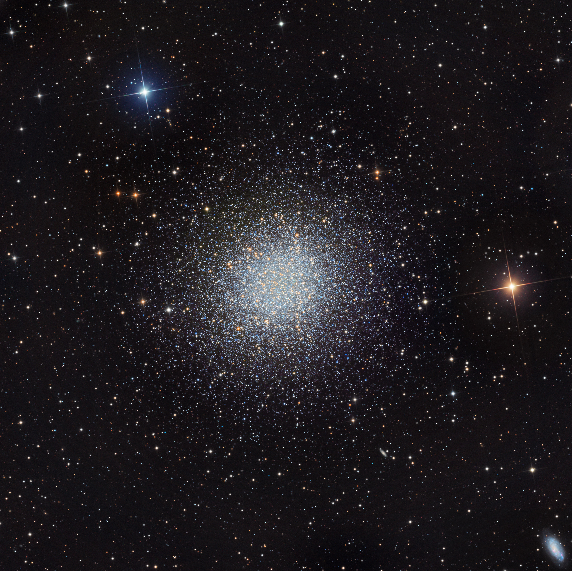 apod 2012 june 14 m13 the great globular cluster in