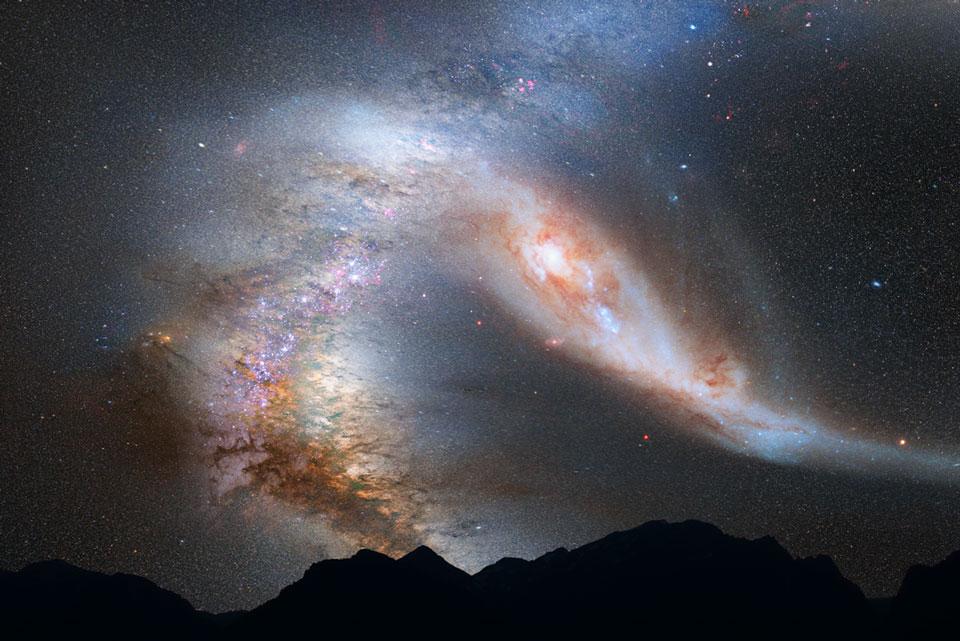 La Vía Láctea condenada: colisión con Andrómeda pendiente