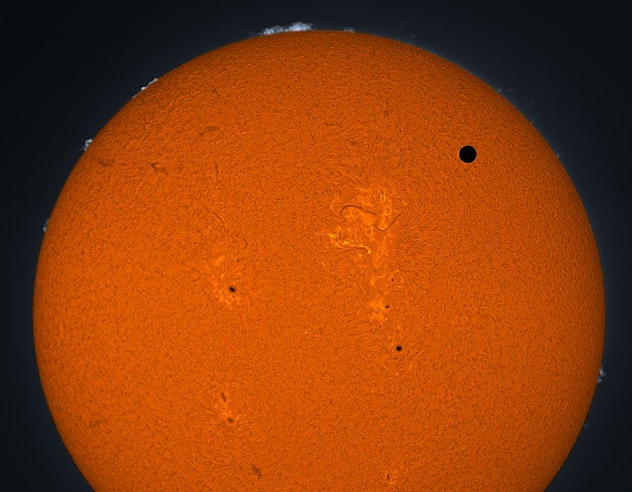 El tránsito de Venus de 2012