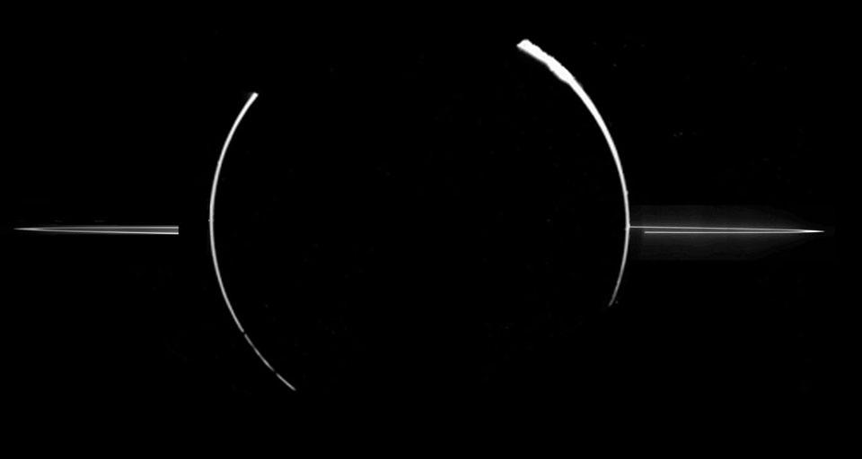 Los anillos de Júpiter a la vista
