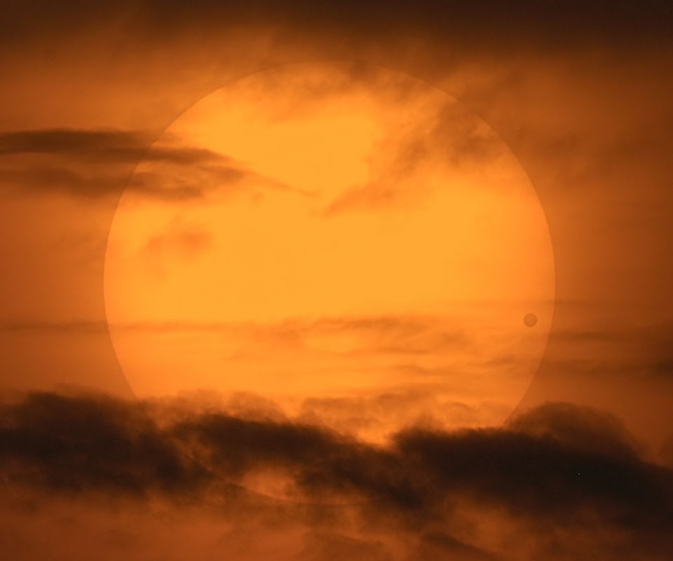 See Explanation.  Clicking on the picture will download&lt;br /&gt;<br /> the highest resolution version available.&#8221; /></a></p> <p><strong>A Picturesque Venus Transit </strong><br /> <strong>Image Credit &amp; Copyright: </strong><a href=