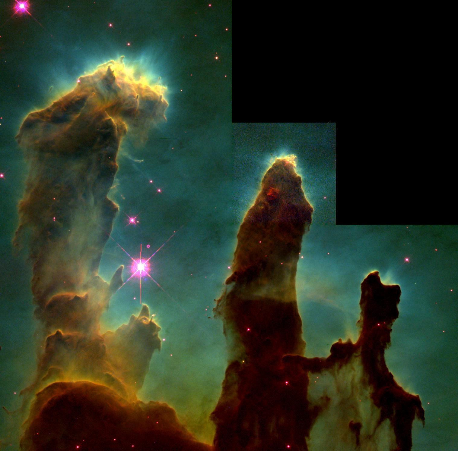 Resultado de imagen de Los pilares de la creación en Observatorio info
