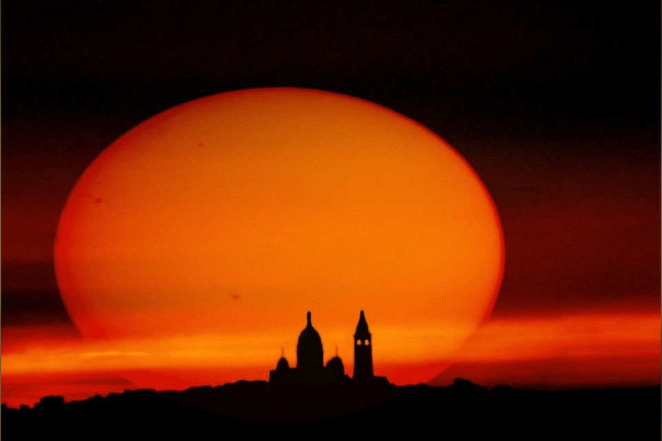 Manchas solares y siluetas