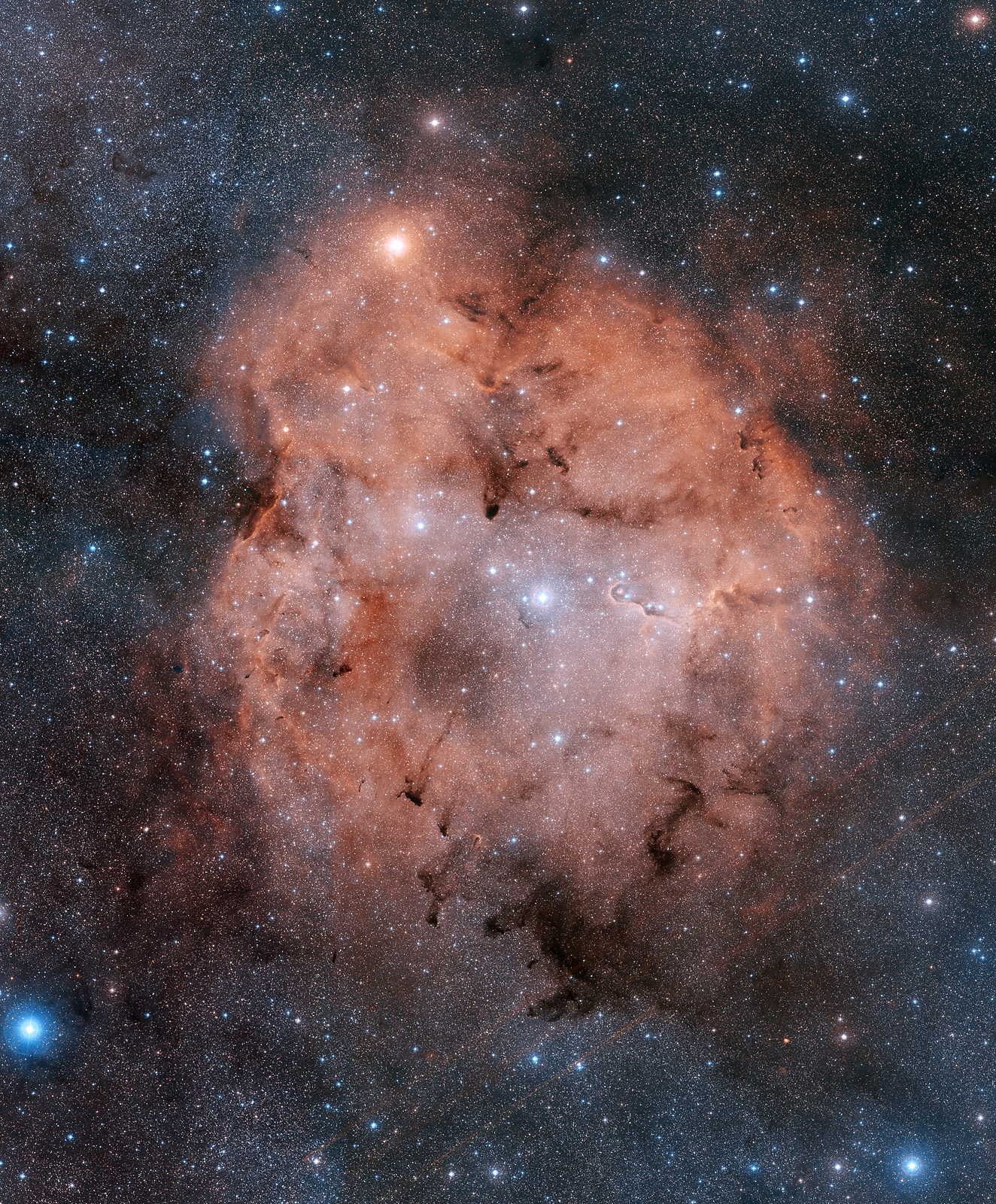 APOD: 2012 August 5 - IC 1396: Emission Nebula in Cepheus