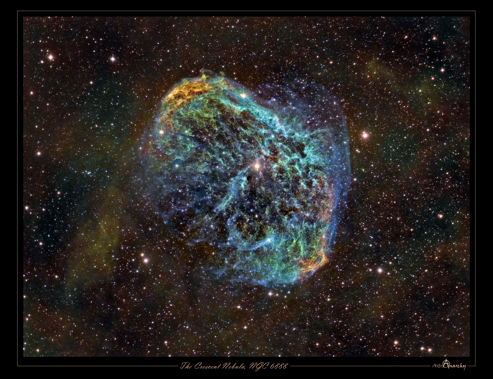 APOD: 2012 August 16 - NGC 6888: The Crescent Nebula