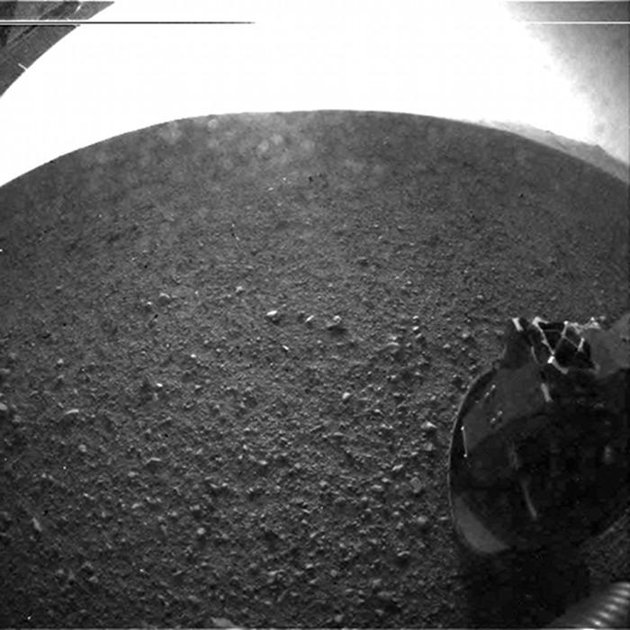 Una rueda en Marte