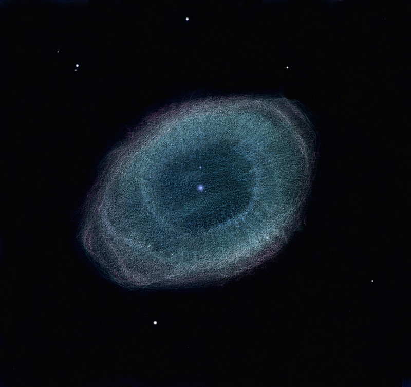 sketch ring nebula - photo #14