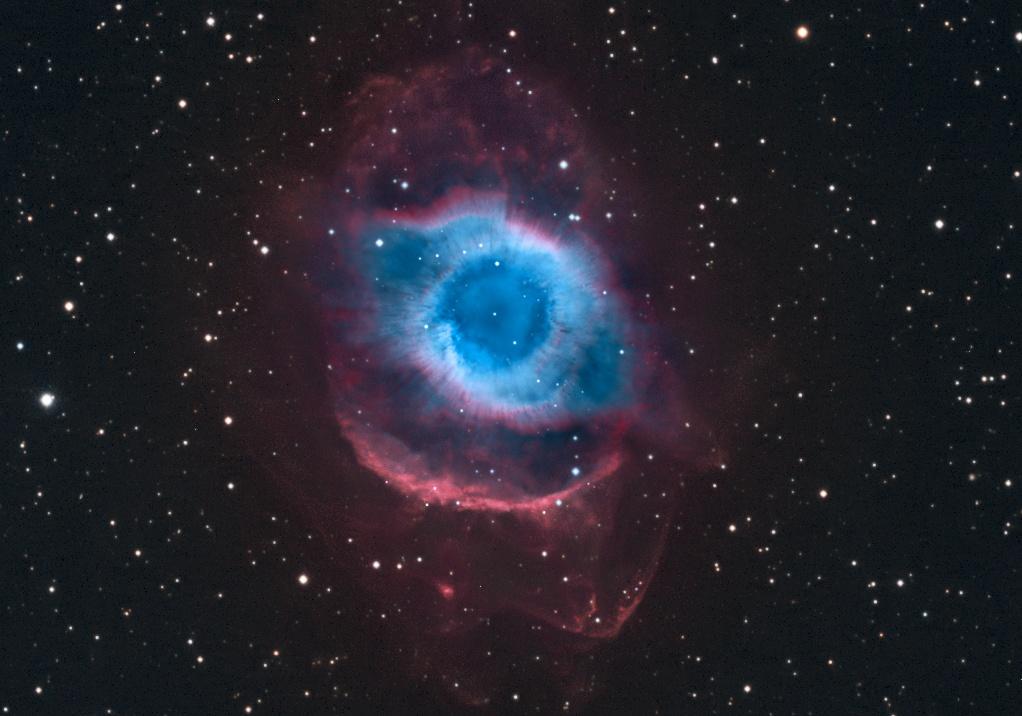 NGC 7293: la nebulosa del Hélice