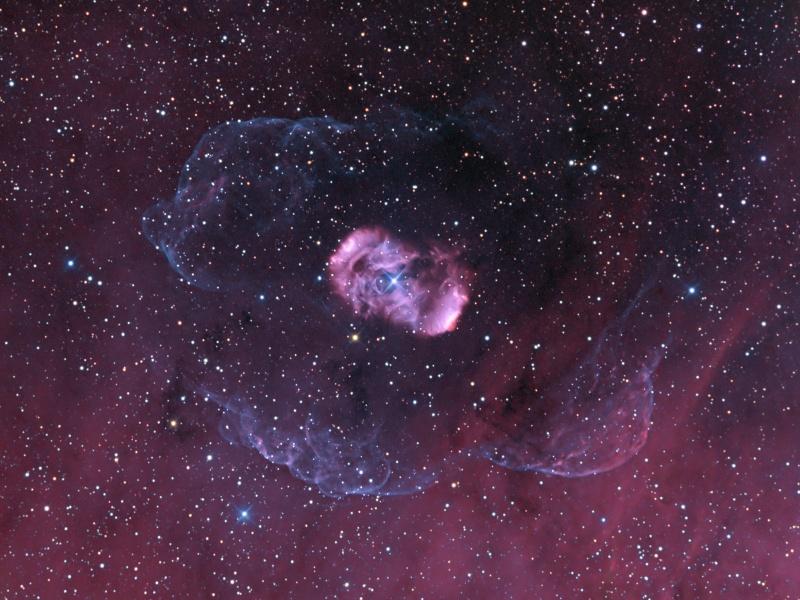 Un halo de NGC 6164