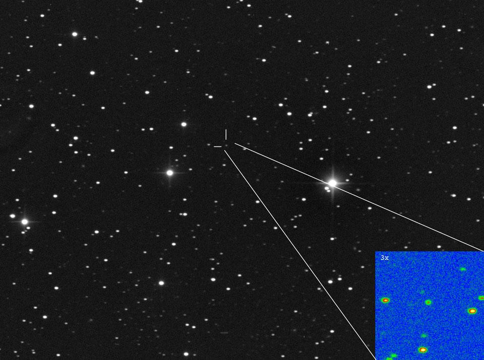 He aquí el cometa Ison